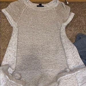 Grey sweater dress!